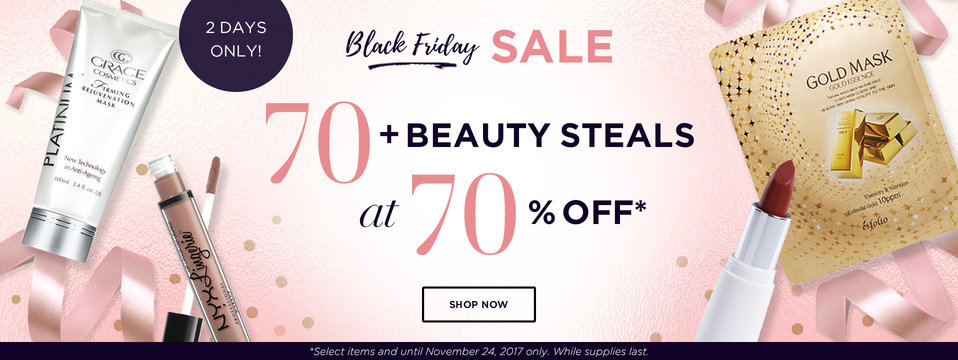 70+ At 70% OFF: BeautyMNL