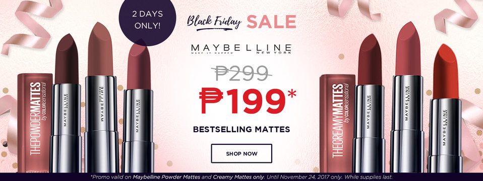 P100 OFF: Maybelline
