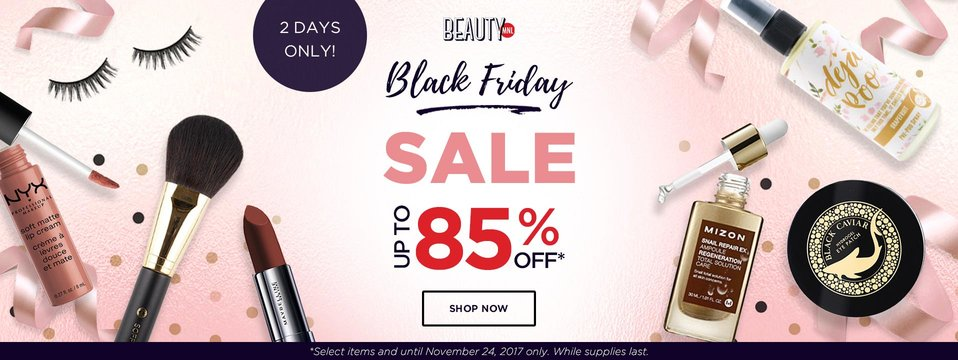 Up to 85% OFF: BeautyMNL