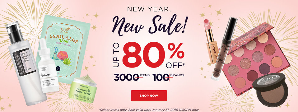 New Year Sale: BeautyMNL