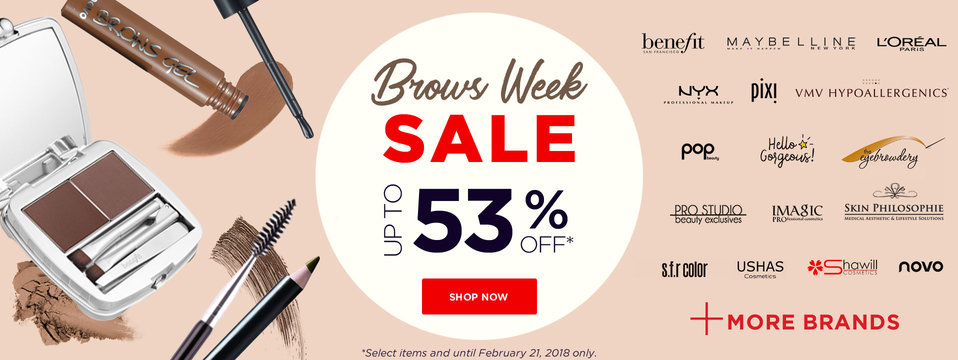 Brows Week: BeautyMNL