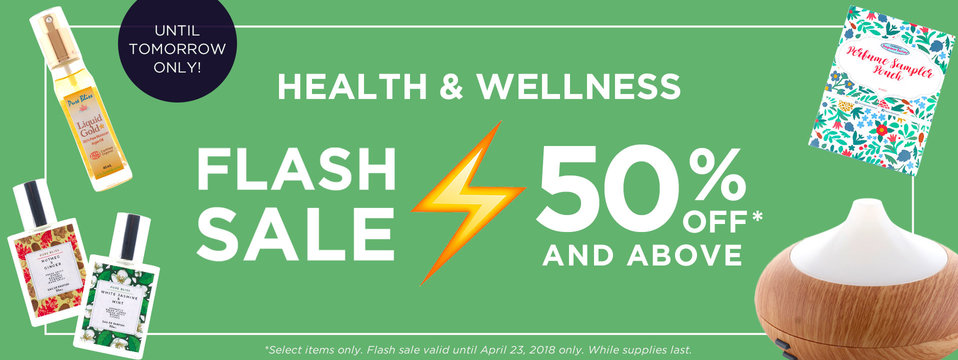 Desktop banner 2 flash sale wellness