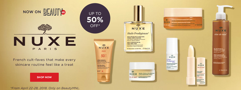 Now On BeautyMNL!: Nuxe Paris