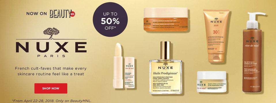 Now on BeautyMNL: Nuxe Paris