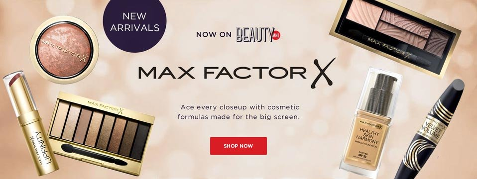 These Just In: Max Factor