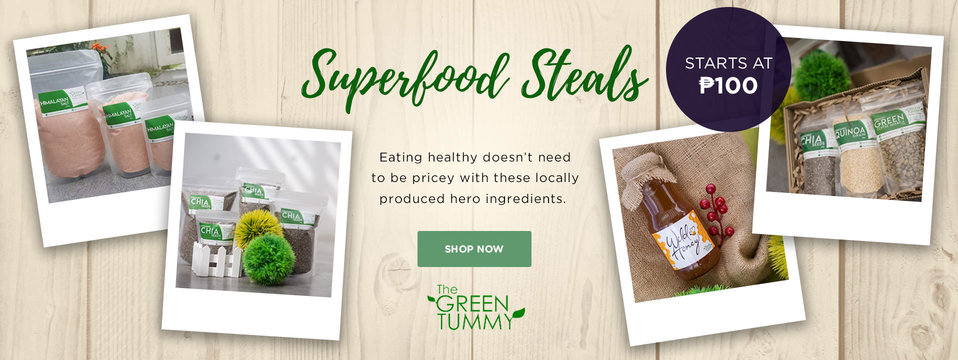 Superfood Steals: The Green Tummy