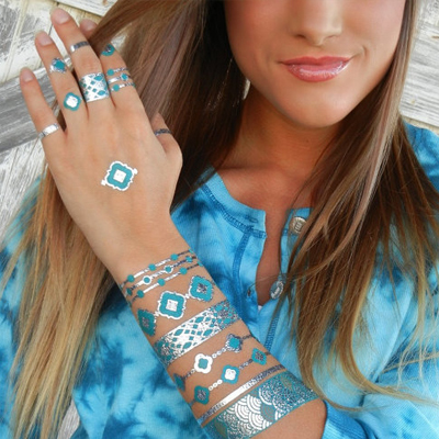 Will You Be Wearing Flash Tats This Summer?