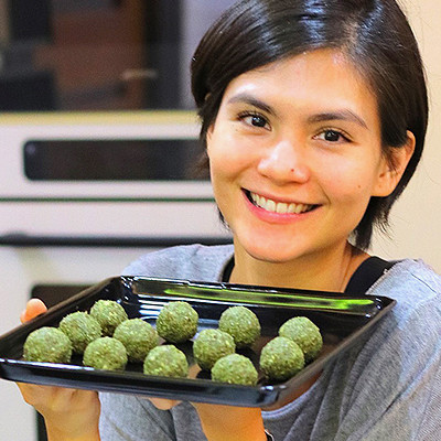 The No-Bake Matcha Balls You Can Snack on Without Guilt