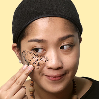 This Coffee Mask Wakes Up Puffy Eyes