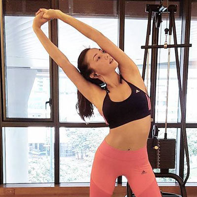This Is Solenn Heussaff's Exact Workout for Rock Solid Abs