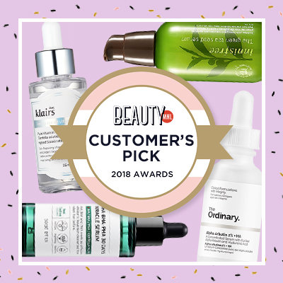 Customer's Pick: The 20 Best Reviewed Serums of 2018