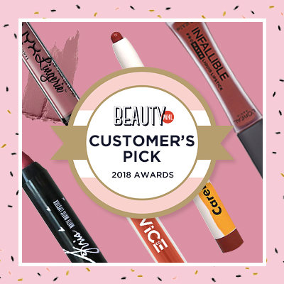 Customer's Pick: The 20 Best Reviewed Lip Products of 2018