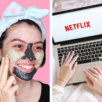 5 Ways to Get Better Skin and Hair While Watching Netflix