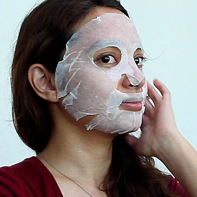 Our Officemates Try Sheet Masks for the First Time