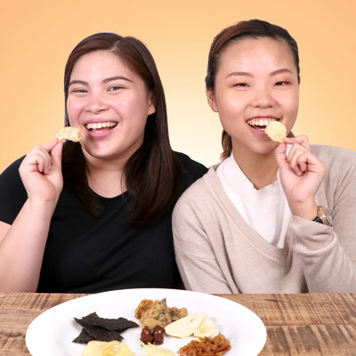 """Watch: We Tasted 6 """"Weird"""" Snack Flavors—Here's What Happened"""