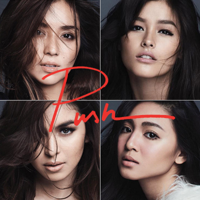 Kathryn, Liza, Nadine, and Julia Rock the Super Natural Look