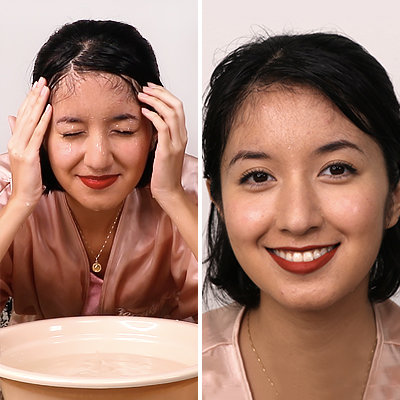 "Can This ""Rain-Proof"" Makeup Routine Pass the Underwater Test?"