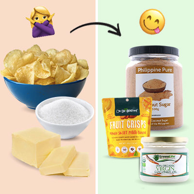 11 Healthier Swaps to Your Grocery Staples