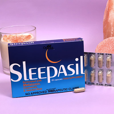 One Insomniac Tries a Natural Supplement to Help Put Her to Sleep