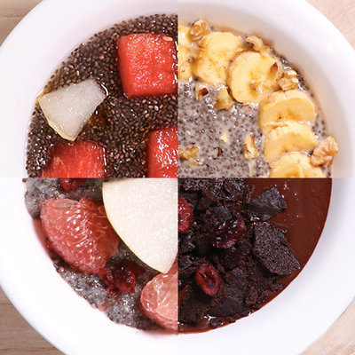 4 Easy Ways to Make Chia Pudding