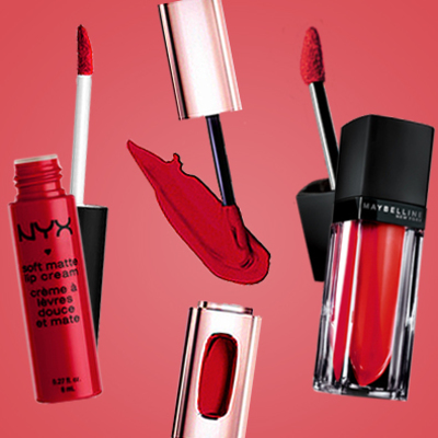 10 Red Liquid Lipsticks to Rev Up Your Week