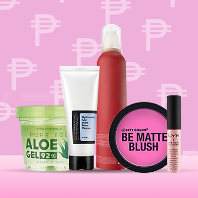 Budget Beauty: 10 Things You Can Buy With P400