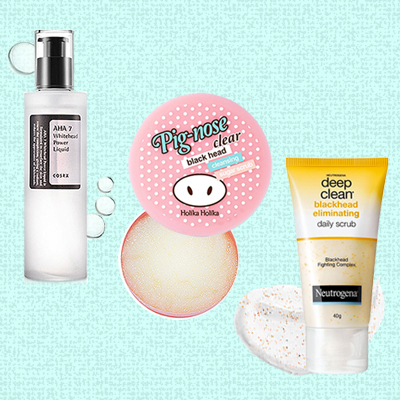 8 Godsends for Blackheads & Whiteheads