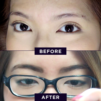 Here's What Happens When You Get a Brow Darkening Treatment