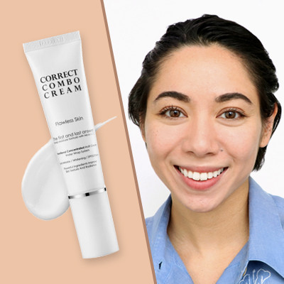 See the Difference a CC Cream Can Make in Your Skin