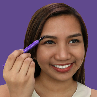 Watch: We Tried a Brow Tattoo Pen for the First Time