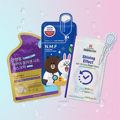 Watch: 7 Korean Sheet Masks That Will Save Your Summer Skin