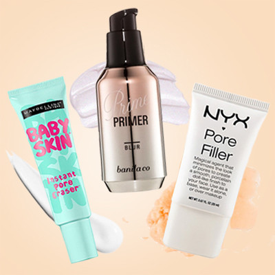5 Primers That Make Large Pores Disappear