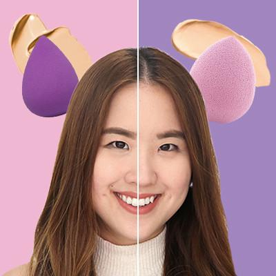 Svs makeup sponges square