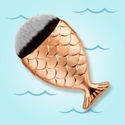 Watch: How to Use a Mermaid Brush