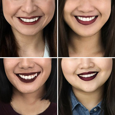 Square wine lipsticks copy