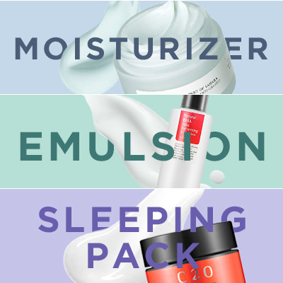 Moisturizers, Emulsions, Sleeping Masks: What's the Difference?