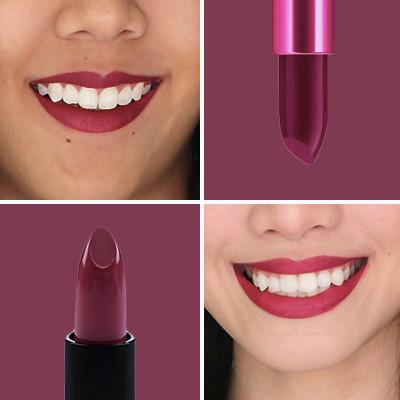 Berry lipstick square