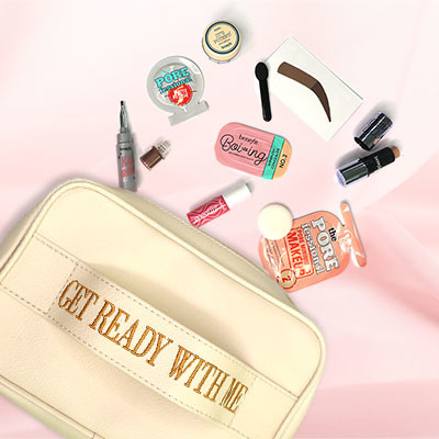 Get Your Face On With Our Get Ready With Me Bag