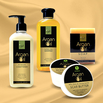 Square argan gold copy