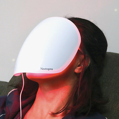 I Tried an LED Face Mask for Two Weeks—and It Worked!