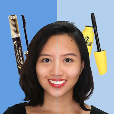 "Watch: Should You Splurge or Save on ""Stretchy"" Mascara?"
