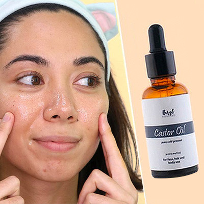 I Washed My Face With Castor Oil to Minimize My Pores