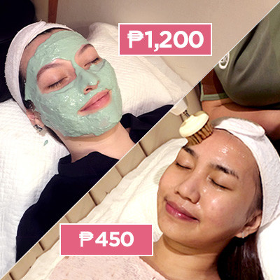 Two Broke Girls Get Their First Facials for P450 and P1,200
