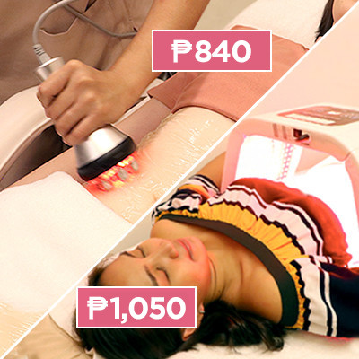 Two Broke Girls Try Slimming Treatments Under P1,100