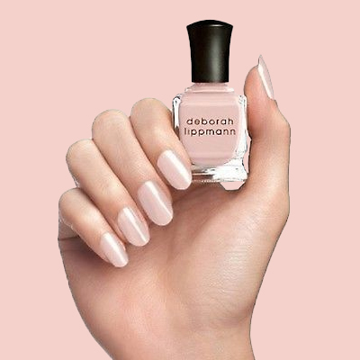 We're Obsessed with the Milky Pink Manicure