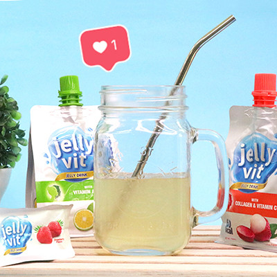 """I Tried a """"Jelly Drink"""" for Nicer Skin and Hair"""