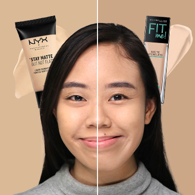 Watch: Should You Splurge or Save on Mattifying Foundation?