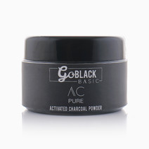 Activated Charcoal Pure Powder (50g) by GO BLACK