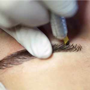 6D Eyebrow Embroidery + Retouch Session + After-Care Kit by Jesi Mendez  Salon