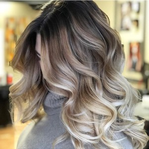 Balayage using Davines Color from Italy by Jesi Mendez  Salon